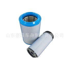 2841空气滤芯解放j6配件 空滤K2841 豪沃T7 厂家 价格 图片