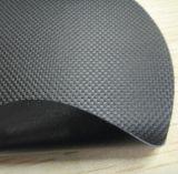 環保6P黑色PVC夾網布/止滑垫用/有凸点乙烯基塗層面料