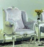 包邮美式古典实木休闲椅 布艺扶手椅欧式餐椅 手工雕花咖啡麻将椅