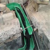玻璃钢电缆槽盒安装流程/高清图片新乡景龙公司提供