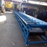 木屑水平式皮带运输机 挡板皮带输送机