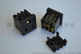 TR插座,美标带防护门插座.美规插座.