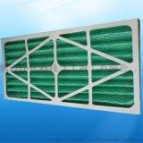 上海電子廠摺疊式初效過濾器_合成纖維板式過濾器