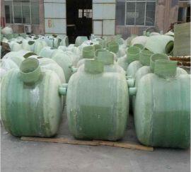 玻璃钢化粪池隔油池 污水一体化处理设备抗压强度高