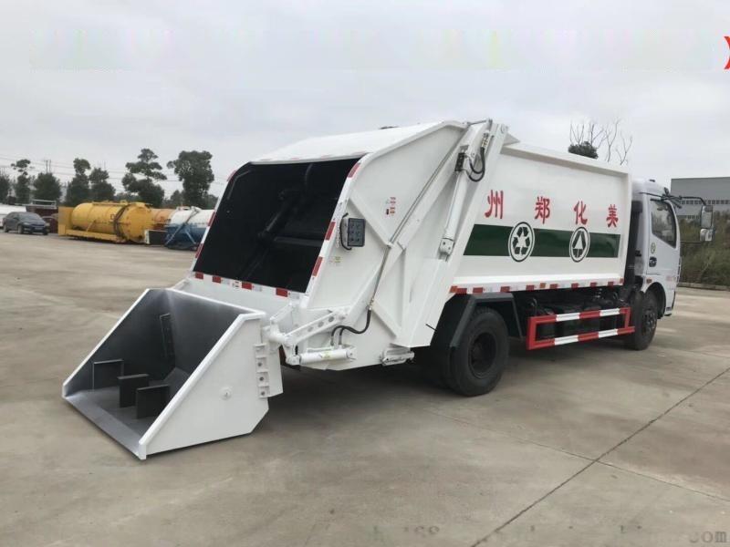 厂家直销东风天锦压缩垃圾车