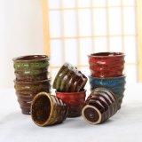 拇指花盆 多肉花卉花盆容器 窑变色釉陶瓷花盆