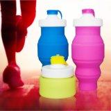 創意新款禮品水杯攜帶型戶外旅遊登山運動水杯矽膠可摺疊伸縮水壺