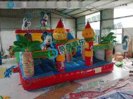 充气跳跳床价格|充气滑梯跳床厂家|海南儿童游乐设备厂