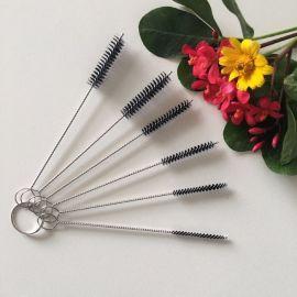 深圳厂家制造纹身器材针嘴毛刷 喷笔清洁刷 6支一套 规格齐全
