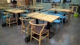 实木餐桌定制款式,深圳西餐厅实木桌椅定制