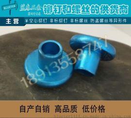 氧化阳极铝铆钉 彩色铝铆钉