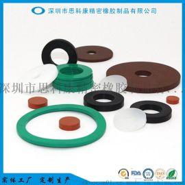 工厂定制生产氟胶垫片氟橡胶垫片耐高温橡胶垫片
