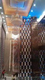 家居不锈钢电视背景墙装饰线条
