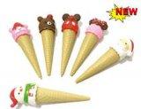 韩国文具冰淇淋圆珠笔雪糕创意圣诞甜筒圆珠笔 冰淇淋雪糕造型笔