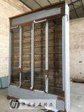 客廳不鏽鋼酒櫃別墅玻璃收納櫃餐邊櫃定制 新款簡約樣板房家具