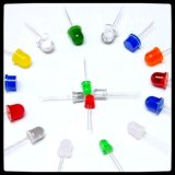 广东恒润光电直销系列插件LED灯珠,RGB,圆头平头方形LED灯珠
