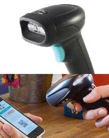 手机屏幕条码扫描枪