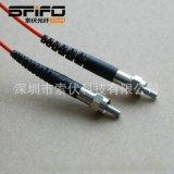 SMA905光纤连接线 不锈钢金属插芯 耐高温 (PCF、POF光纤光缆)