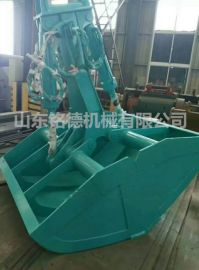 挖掘机液压贝壳斗 机械抓沙斗 船用吊机抓斗