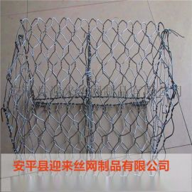 镀锌石笼网,包塑石笼网,浸塑格宾网