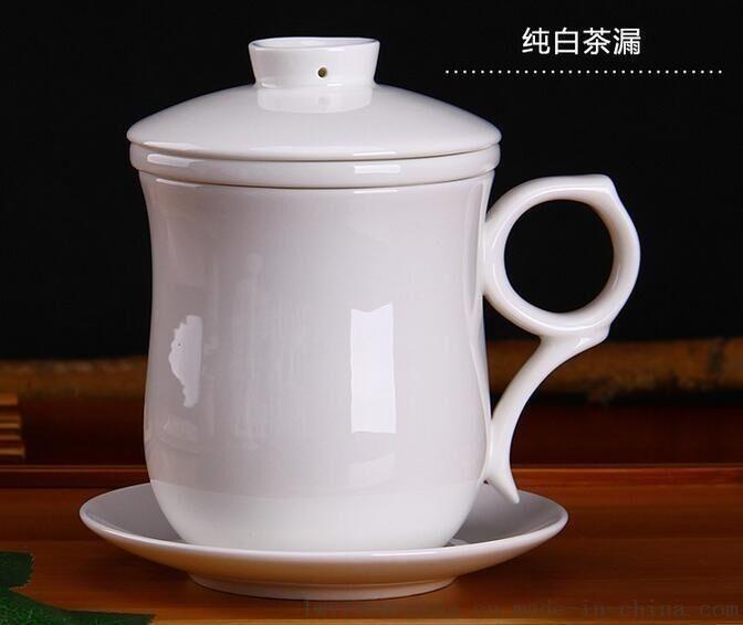 景德镇陶瓷茶杯生产厂家 万业陶瓷厂 批发陶瓷礼品杯子厂