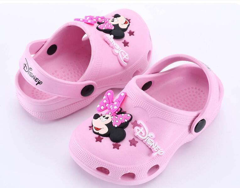 2017行之美新款夏季舒适男女卡通儿童(**)凉拖鞋
