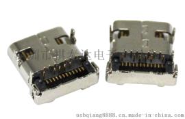 深圳厂家USB 3.0 AF 短体 SMT 外壳鱼叉
