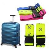 旅行行李箱防摔捆綁帶尼龍箱包打包帶便攜帶反光飛機圖案 兩條裝