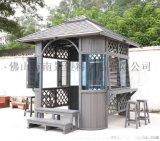南景NJ014户外塑木凉亭