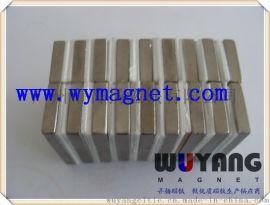供应传感器工具永磁石 耐高温钐钴方形磁铁