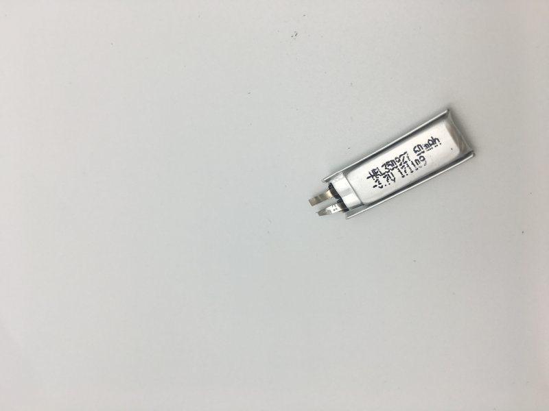 350927-60mah蓝牙聚合物小电池