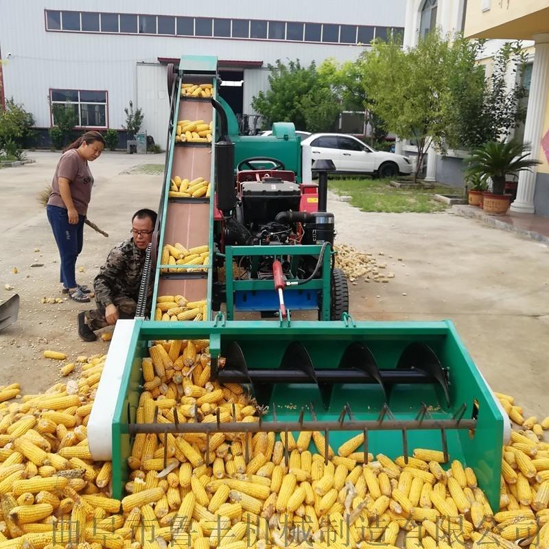 呼和浩特多缸拖拉机带**玉米脱粒机