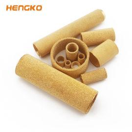 恆歌生產 青銅燒結導電導熱 過濾性能好 燒結銅濾芯