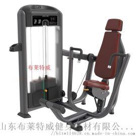 杭州健身器材生产厂家直销新款必确坐式推胸训练器