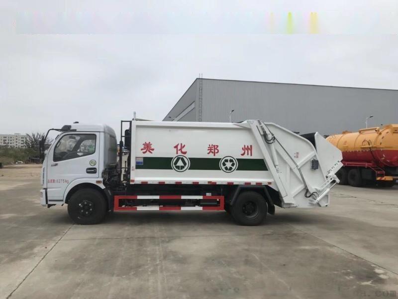 杭州哪里有卖压缩垃圾车?东风8方压缩垃圾车