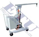 ETU易梯优, 半电动型旋臂式平衡重单臂吊 单臂小吊车 可移动吊机