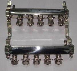 不锈钢双球阀分水器