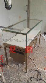 不锈钢珠宝展示柜木制展示柜透明玻璃展示柜