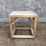 厂家直销实木方凳新中式茶道方凳老榆木凳子桌边餐边凳