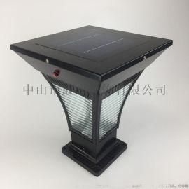 太陽能柱燈 家用 庭院燈 戶外門柱大門燈