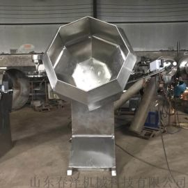八角拌料机认准强大 膨化食品八角拌料机 自动出料