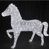 LED動物造型燈戶外防水景觀節日裝飾亮化3D馬