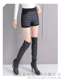 精品女装折扣达衣岩冬装新款羽绒裤