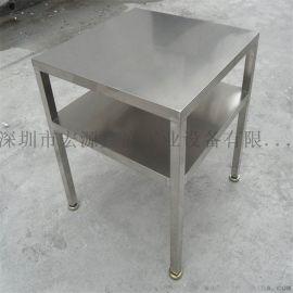 不锈钢工作台 不锈钢车间小方凳 不锈钢移动手推车