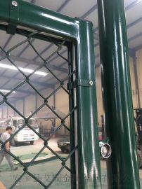 学校球场勾花护栏 高尔夫球场围网 网球场围网护栏