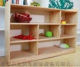 南寧幼兒傢俱廠定做 松木玩具書包櫃 組合櫃