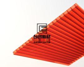 夹江县、沐川县6mm湖蓝阳光板 6mm茶色阳光板