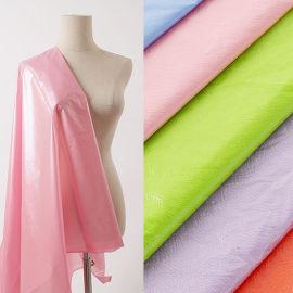 马卡龙糖果色时尚女装面料羽鸣纺织科技糖果色面料