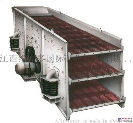 大型工业振动筛选机 鹅卵石筛分设备 振动筛型号
