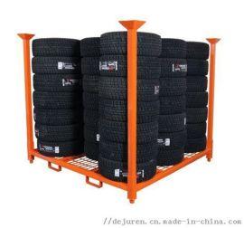 汽车轮胎展示架 仓储货架 轮毂展架 轮胎架
